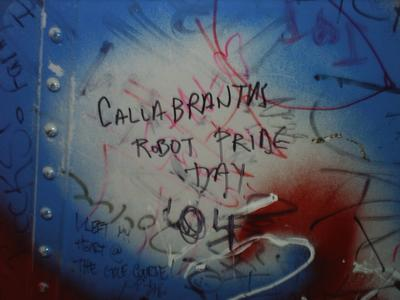 Calgraffiti - photo by E Gutowski