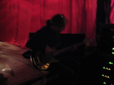 D\'Arcy Maguire backstage at the El Mocambo