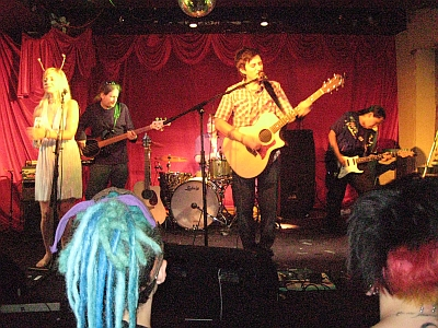 Keram and the band live at El Mocambo